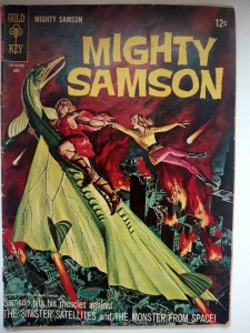 Komiks Mighty Samson #6 June 1966