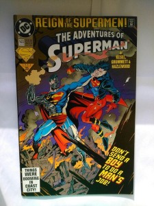 Komiks Adventure of Superman #503 August 1993
