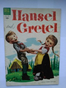 Komiks Dell Hansel and Gretel #590 1954