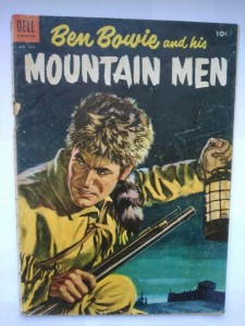Komiks Dell Mountain Men #599 1954
