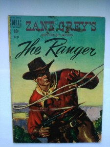 Komiks Dell Zane Grey's The Ranger #255 1949