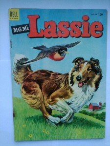 Komiks Dell Lassie #14 January 1954