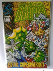 Komiks The Savage Dragon #2 1st App Superpatriot
