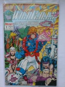 Komiks Wild Cats #1 August 1992 Jim Lee