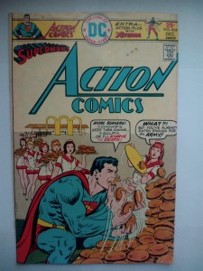 Komiks Action Comics #454 December 1975
