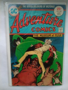 Komiks Adventure Comics #438 April 1975