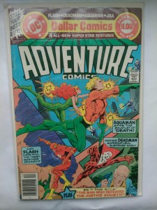 Komiks Adventure Comics #466 December 1979