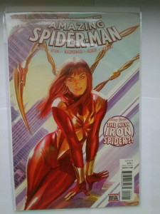 Komiks Amazing Spiderman #015 2016 Iron Spider Variant Cover