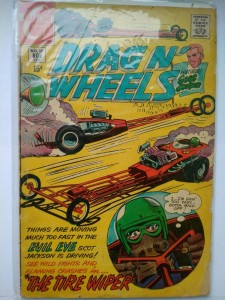 Komiks Drag n' Wheels #37 Nov 1969