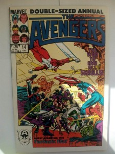 Komiks Avengers Double Sized Annual #14 1985