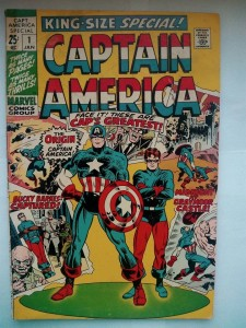 Komiks Captain America King Size Special #1 1971