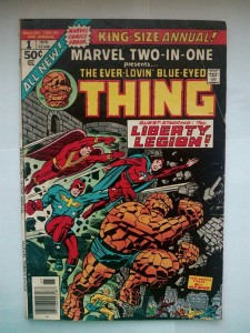 Komiks Marvel Two In One King Size #1 1976
