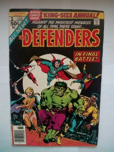 Komiks The Defenders King Size Annual #1 1976
