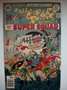 Komiks All Star Comics  #64 January 1977